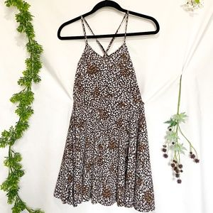 NWT Urban Outfitters Animal Print Skater Dress
